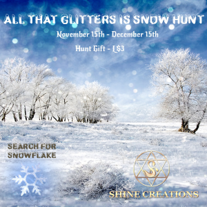 All That Glitters Is Snow Hunt Poster