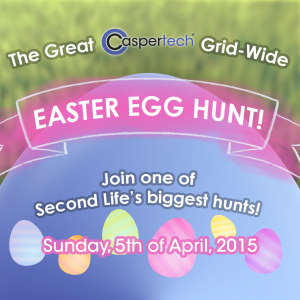Casper vend Easter Egg Hunt 2015 Join One