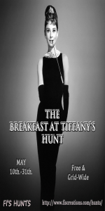Fi's Hunts - The Breakfast at Tiffany's Hunt - Poster Image