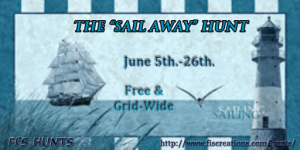 Fi's Hunts - The _Sail Away_ Hunt - Poster Image