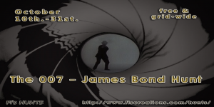 Fi's Hunts _ 007 - James Bond Hunt