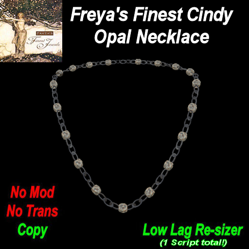 Freya's Finest Cindy Opal Necklace TEX