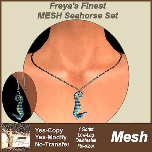Freya's Finest MESH Seahorse Set