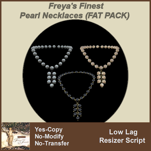 Freya's Finest Pearl Necklaces (FAT PACK) TEXT