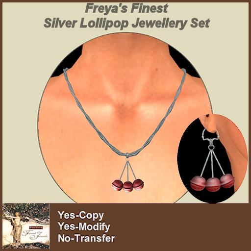 Freya's Finest Silver Lollipop Set